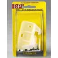 Prime Line 221904 Drawer Track Guide Kit, Orange