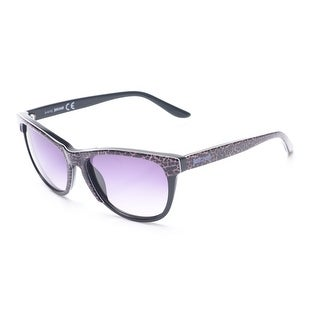 Just Cavalli Women's Cheetah Print Classic Style Sunglasses Cheetah/Black - Small
