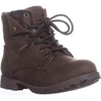 Rock & Candy Tavin Fashion Hiking Boots, Brown/Red