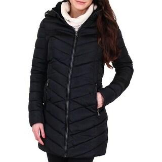 Nanette Nanette Lepore Womens Puffer Coat Winter Quilted