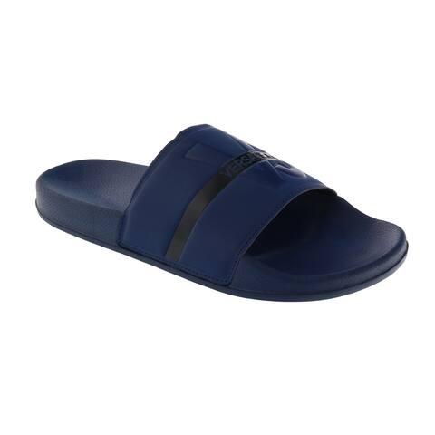 Versace Blue Slide