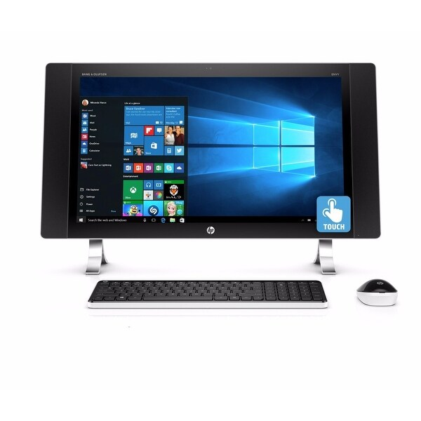 "Refurbished - HP ENVY 27-P014 27"" Touch AIO Desktop Intel i5-6400T 2.2GHz 12GB 1TB Window 10"