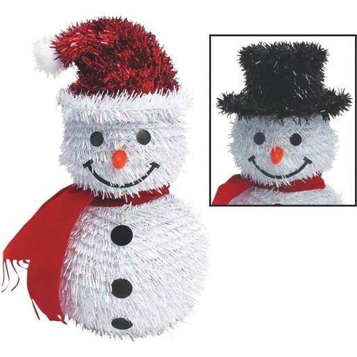 F C Young 3D Snowman W/Blk Hat 3D-10SM Unit: EACH Contains 6 per case