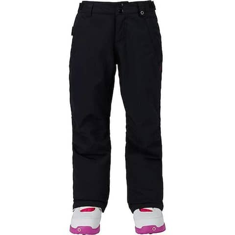 Burton Kids Girls Sweetart Snow Pants True Black Size Medium