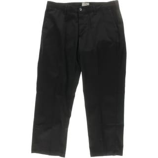 Lee Mens Custom Fit Flat Front Straight Leg Pants - 36/29