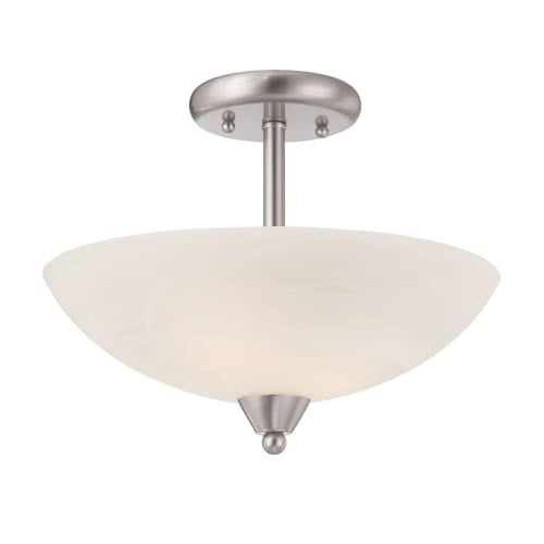 Designers Fountain 15005-SF Torino 1 Light Semi Flush Ceiling Fixtures