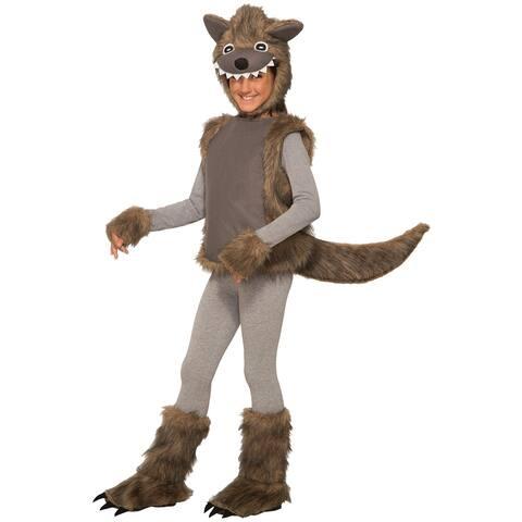 Forum Novelties Wee Wolf Toddler Costume - Brown