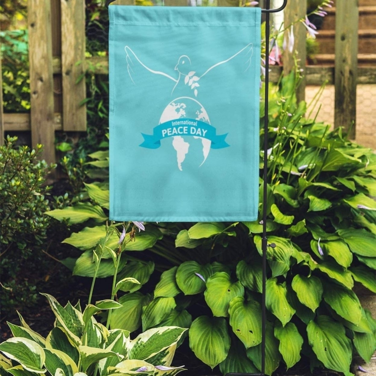 Blue World International Peace Day Dove Bird Celebration Earth Faith Garden Flag Decorative Flag House Banner 12x18 Inch N A On Sale Overstock 31402484