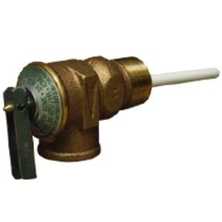 """Cash Acme 16132A-0175 Temperature And Pressure Relief Valve, 3/4"""""""