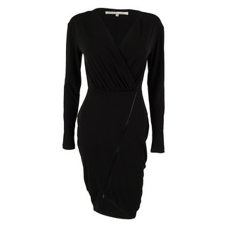 RACHEL Rachel Roy Women's Long Sleeve Asymmetrical Dress