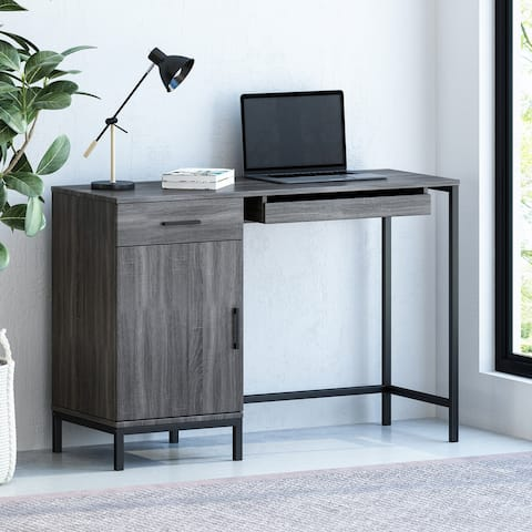 Gallaudet Faux Wood Computer Desk by Christopher Knight Home