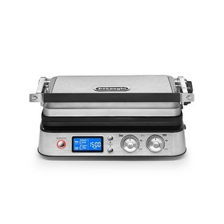 DeLonghi Livenza Contact Grill and Open Barbecue (Stainless Steel)