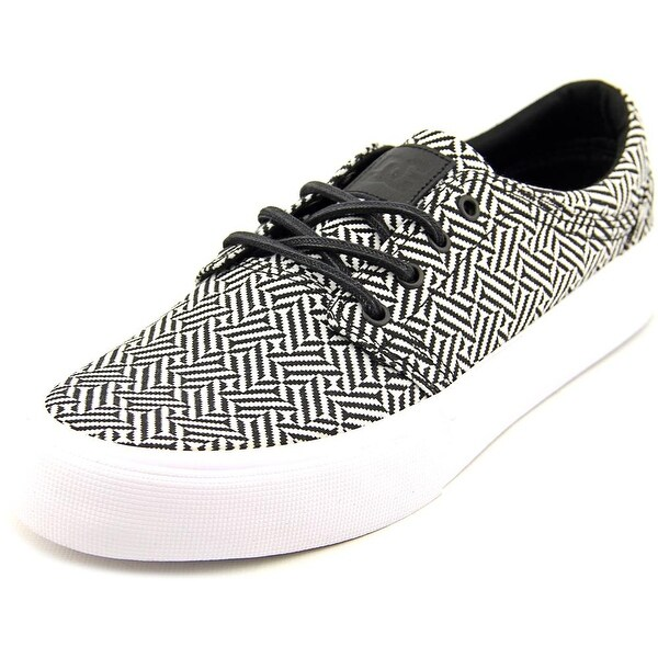 DC Shoes Trase SE Men Round Toe Canvas White Skate Shoe