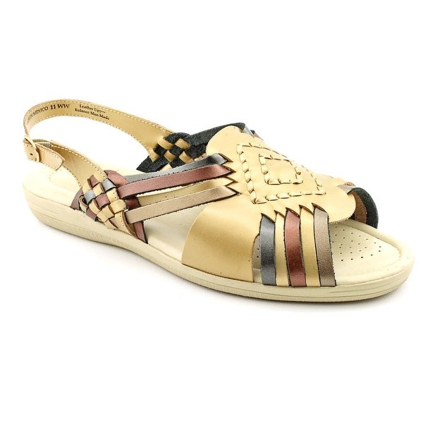 Softspots Tela Women Metallic Sandals