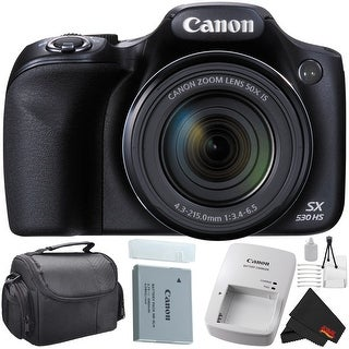 Canon PowerShot SX530 HS Digital Camera 50X Optical Zoom Bundle