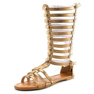 Penny Loves Kenny Tristen Women Open Toe Suede Gladiator Sandal