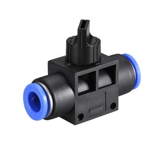 "Air Flow Control Valve Connect Fitting, 25/64"" OD  Speed Controller 2pcs - 2pcs 25/64"""