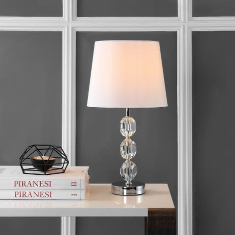 "SAFAVIEH Lighting 19-inch Brockton LED Table Lamp - 10""x10""x18.5"""