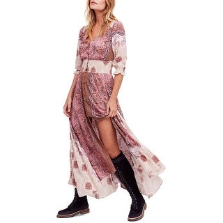 Link to Free People Womens Mexicali Rose Maxi Dress Similar Items in Women's Outerwear