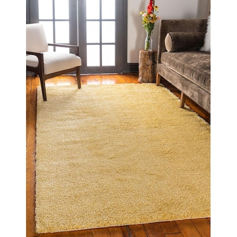 Unique Loom Solid Calabasas Solo Area Rug