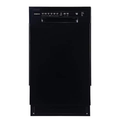 """EdgeStar BIDW1802 18"""" Wide 8 Place Setting Energy Star Rated Built-In Dishwasher"""
