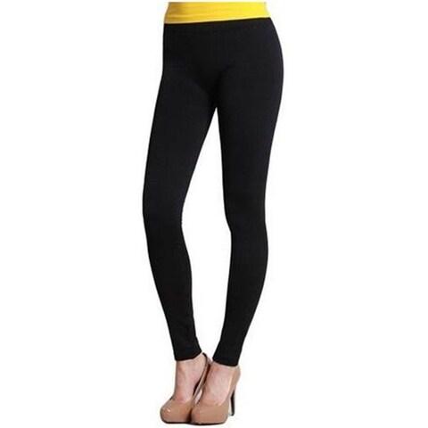 Womens Seamless Full Length Long Ankle Leggings