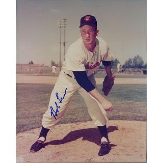 Signed Lemon Bob Cleveland Indians 8x10 Photo autographed