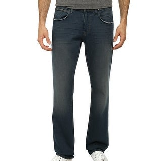 Hudson NEW Blue Muddled Mens Size 28X33 Boot Cut Clifton Jeans