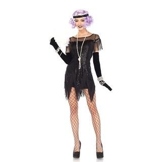 Foxtrot Flirt Women's Costume - Black