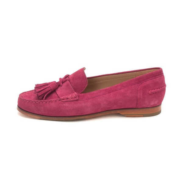 Cole Haan Womens Pinch Grand Tassel Closed Toe Loafers
