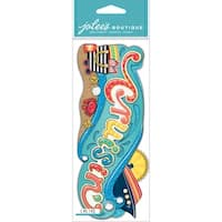 Jolee's Boutique Title Waves Dimensional Stickers-Cruisin