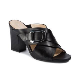 fc1fc263ac Buy Black Andrew Geller Women's Sandals Online at Overstock | Our Best  Women's Shoes Deals
