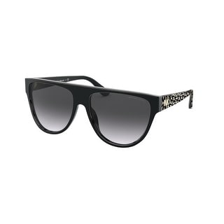 Link to Michael Kors MK2111 30058G 57 Black Woman Irregular Sunglasses Similar Items in Women's Sunglasses