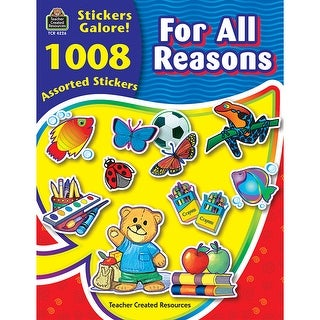 For All Reasons Sticker Book 1008Pk