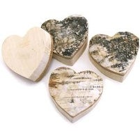 Hearts - Bark Shapes 4/Pkg