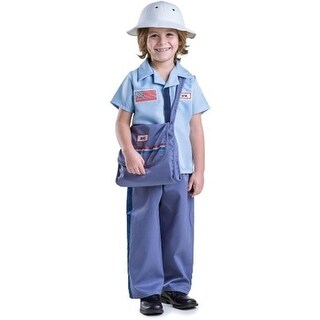 Dress Up America 850-L Mail Carrier Costume, Large - Age 12 to 14