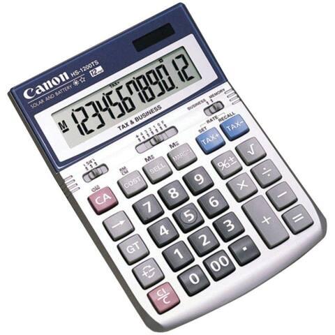 Canon HS-1200TS Desktop Calculator 12-Digit Calculator