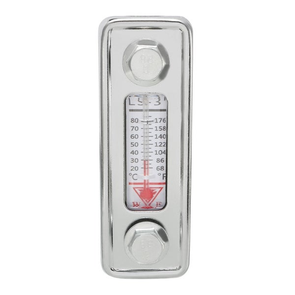 Water Liquid Temperature Gauge Hydraulic Oil Level Gauge with Thermometer LS-3