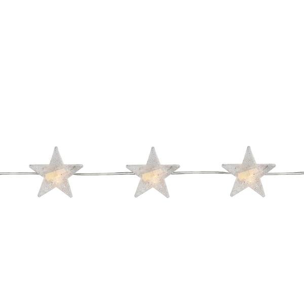 Shop 20 Warm White Star Led Micro Fairy Christmas Lights 6 Ft