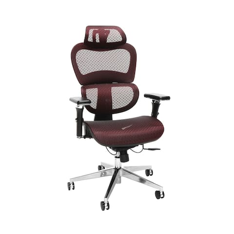 OFM Ergo Upholstered Office Chair with Optional Headrest, Lumbar Support (540)