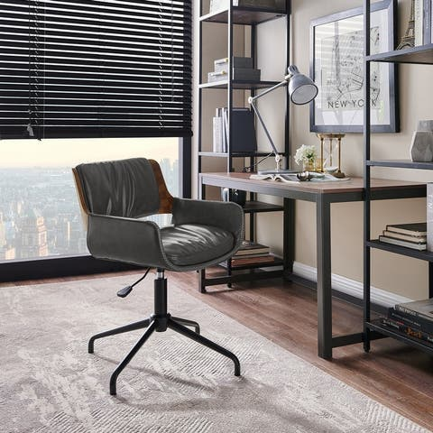 Carbon Loft Nasim Height-adjustable Swivel Accent Home Office Desk Chair