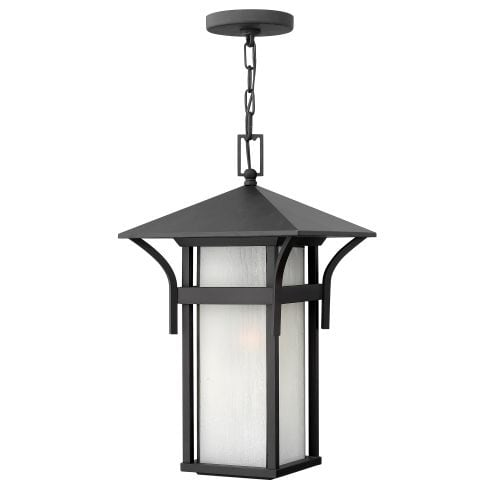 "Hinkley Lighting 2572 1 Light 19"" Height Outdoor Lantern Pendant from the Harbor Collection"