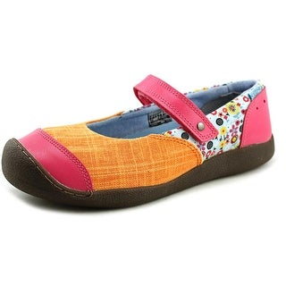 Keen Punky MJ Round Toe Canvas Mary Janes