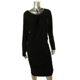 Vince Camuto Womens Long Sleeves Mid-Calf Wear to Work Dress - L