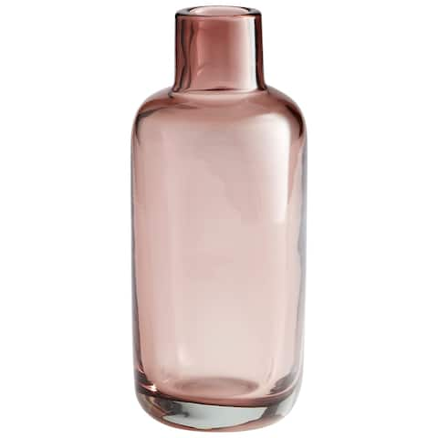 "Cyan Design 10435 Large Jahan 10-1/4"" Tall Glass Vase - Plum"