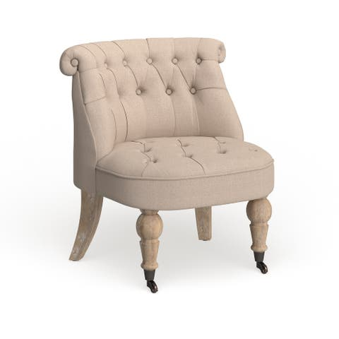 "Safavieh Somerset Pull-up Taupe Chair - 26.5"" x 25.7"" x 28.5"""