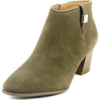 Alfani Leoh Women Round Toe Synthetic Green Bootie