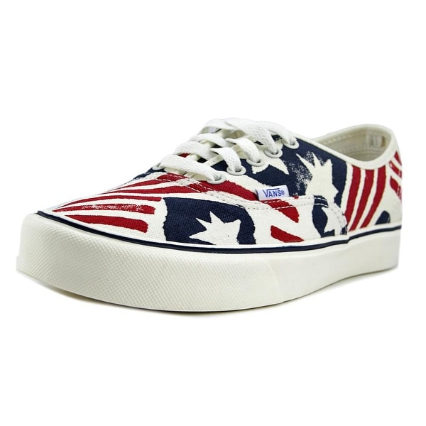 Vans Authentic Lite + Men (Reissue) Red/Blue Sneakers Shoes