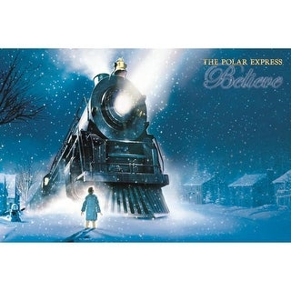 Polar Express Doormat, Christmas Decor by BrownTrout