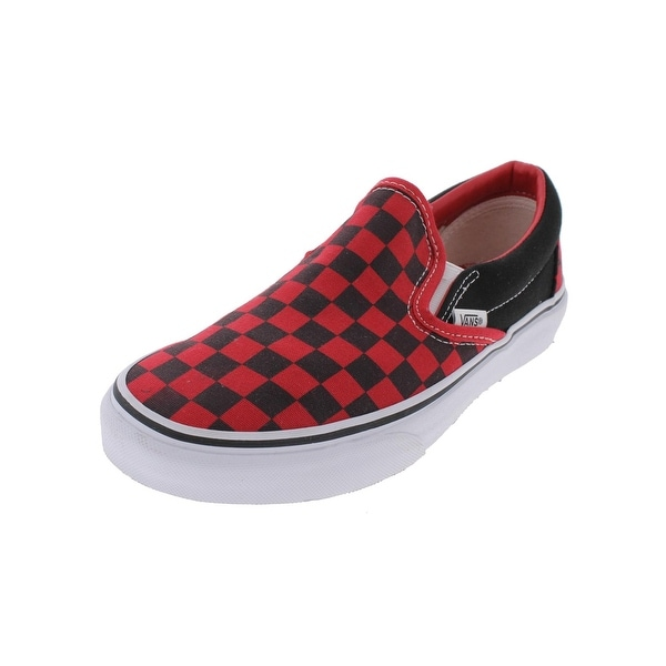 Shop Vans Mens Classic Casual Shoes Checkered Loafer - Free Shipping ... e7f88d134